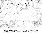 grunge black and white pattern. ... | Shutterstock . vector #765979069