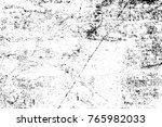 grunge black and white pattern. ... | Shutterstock . vector #765982033