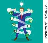 business concept as a full...   Shutterstock .eps vector #765982954