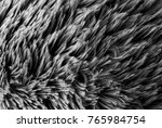 grey  wool texture background ... | Shutterstock . vector #765984754