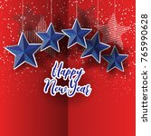 2018 new year background for... | Shutterstock .eps vector #765990628