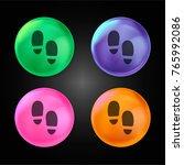 Footprint Crystal Ball Design...