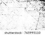 grunge black and white pattern. ... | Shutterstock . vector #765995110