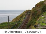 Small photo of View to train line from Bray Head in Bray, Ireland