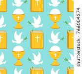 cute seamless pattern for first ...   Shutterstock .eps vector #766004374