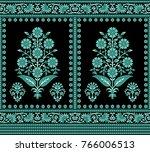 traditional indian motif | Shutterstock . vector #766006513