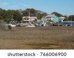 southport  north carolina  ... | Shutterstock . vector #766006900