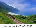 taiwan  hualien  the train is...   Shutterstock . vector #766013338