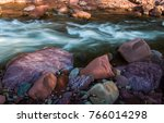 river and natural. | Shutterstock . vector #766014298