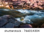 river and natural. | Shutterstock . vector #766014304