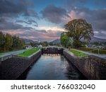 neptunes staircase  fort william | Shutterstock . vector #766032040