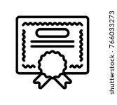 business   certificate | Shutterstock .eps vector #766033273