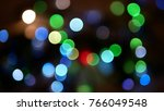 abstract multicolored blurred... | Shutterstock . vector #766049548
