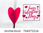 image of valentines day | Shutterstock . vector #766072216