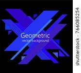 minimalist design  creative...   Shutterstock .eps vector #766085254
