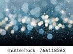 blurred bokeh light background  ... | Shutterstock . vector #766118263