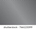 metal grate background  | Shutterstock .eps vector #766123399
