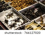 Fry Spiders And Insects In Kha...