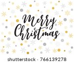 ornaments and decorations of... | Shutterstock .eps vector #766139278