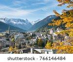 Davos In Autumn  Graubunden ...