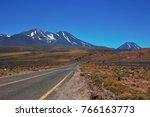 chili  antiplano  road   Shutterstock . vector #766163773