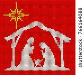 Knitted Pattern. Mary  Joseph...
