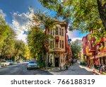 istanbul  turkey   november 05  ... | Shutterstock . vector #766188319