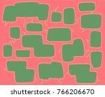 cartoon comic bubble  speech... | Shutterstock .eps vector #766206670