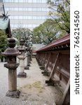 Small photo of City shrine is quiet