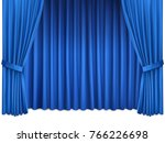 background with luxury blue... | Shutterstock .eps vector #766226698
