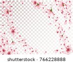realistic peach or chinese...   Shutterstock .eps vector #766228888