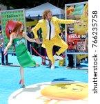 los angeles  ca   july 23  2017 ... | Shutterstock . vector #766235758