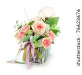 Stock photo bouquet flowers 76623676