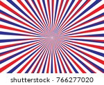 light ray abstarct with russia... | Shutterstock .eps vector #766277020