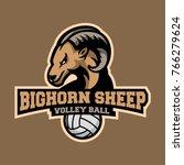 bighorn sheep sports logo ...