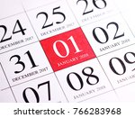 close up of first day of the... | Shutterstock . vector #766283968