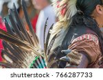 native american man | Shutterstock . vector #766287733