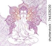 Buddha In Meditation On...