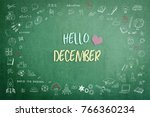 hello december greeting on