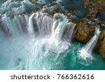 godafoss   icelandic waterfall. ...   Shutterstock . vector #766362616