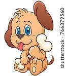 vector illustration of cartoon... | Shutterstock .eps vector #766379560