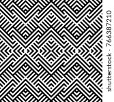 seamless pattern with striped... | Shutterstock .eps vector #766387210