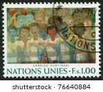 un   circa 1974  postage stamps ... | Shutterstock . vector #76640884