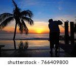 Sunrise In Chaweng Beach Koh...