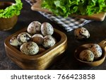 Quail eggs  colorful eggs  diet ...