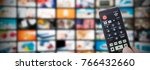 multimedia video streaming web... | Shutterstock . vector #766432660