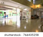 blurred old hospital and clinic ... | Shutterstock . vector #766435258