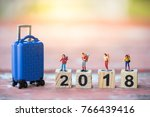 travel and saving concept.... | Shutterstock . vector #766439416