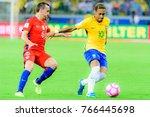 the match between brazil and... | Shutterstock . vector #766445698