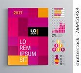 business brochure template... | Shutterstock .eps vector #766451434